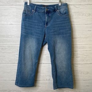 Chico's so lifting cropped jeans